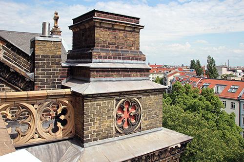 Zionskirche Dach