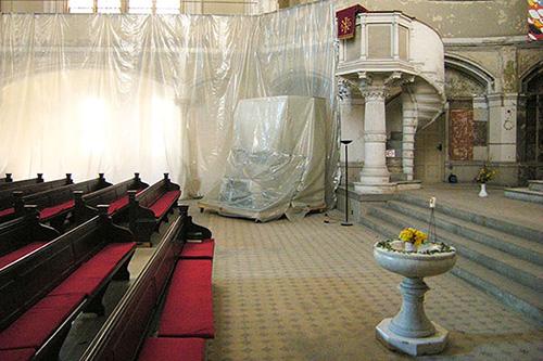 Zionskirche Trockenlegung