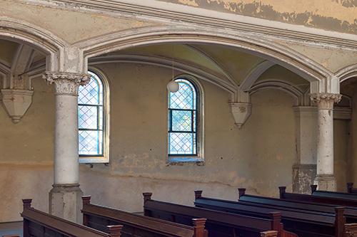Zionskirche Fenster unten